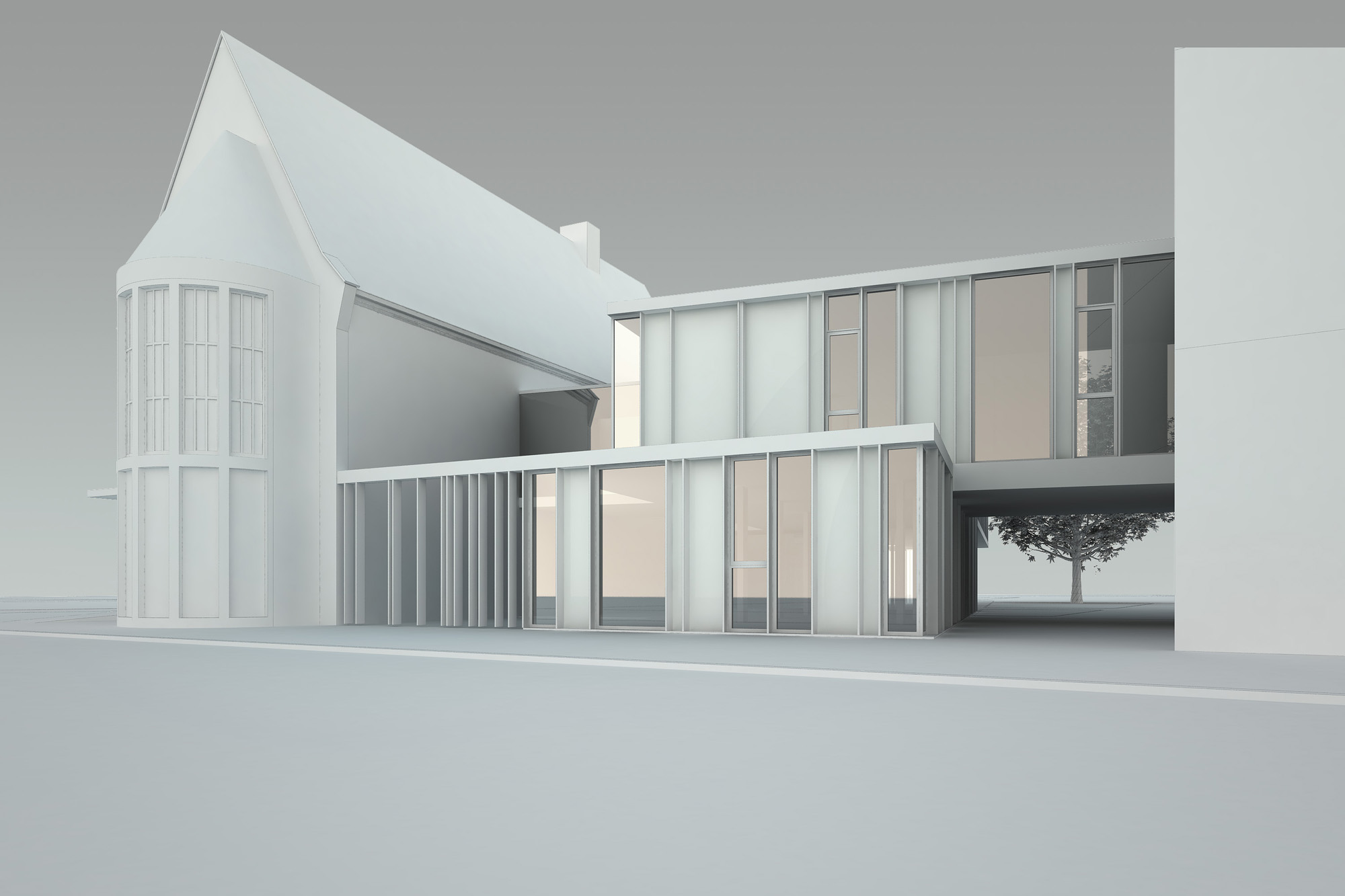Zed architects - Idee huis uitbreiding ...